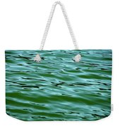 Emerald Sea Weekender Tote Bag