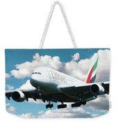 Emirates A380 Weekender Tote Bag