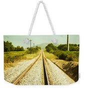 Empty Railway Weekender Tote Bag