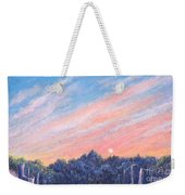 enchanced Catching the Sunset  Weekender Tote Bag