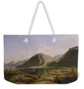 End Of Lake Geneva Weekender Tote Bag
