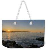 English Bay Sunset Weekender Tote Bag