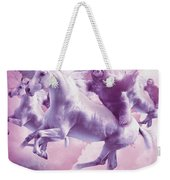 Epic Space Sloth Riding On Unicorn Weekender Tote Bag
