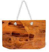 Eroded Sandstone Valley Of Fire Weekender Tote Bag