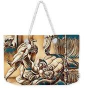 Erotic Abstract Three Weekender Tote Bag