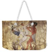 Erotic Drawing Looks Like Fresco Weekender Tote Bag