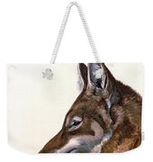 Ethiopian Wolf, Endangered Species Weekender Tote Bag