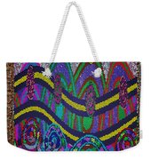 Ethnic Wedding Decorations Abstract Usring Fabrics Ribbons Graphic Elements Weekender Tote Bag