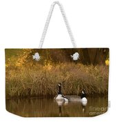 Evening By The Pond Weekender Tote Bag
