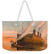 Evening Departure Weekender Tote Bag