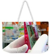 Experiment In Science Research Lab Weekender Tote Bag