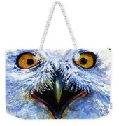 Eyes Of Owls No. 15 Weekender Tote Bag