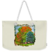 Fall Colors Weekender Tote Bag