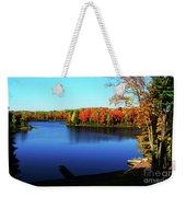 Fall In Northern Wisconsin Weekender Tote Bag