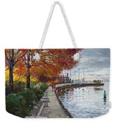 Fall In Port Credit On Weekender Tote Bag