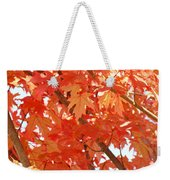 Fall Trees Colorful Autumn Leaves Art Baslee Troutman Weekender Tote Bag