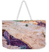 famous Mesa Arch in Canyonlands National Park Utah  USA Weekender Tote Bag