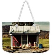 Fancy Outhouse Weekender Tote Bag