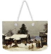 Farm In The Dales Weekender Tote Bag