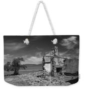 Farmhouse Cottage Ruin Flinders Ranges South Australia Weekender Tote Bag