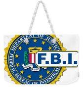 Fbi Seal Mockup Weekender Tote Bag