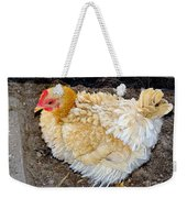 Feathered Finery Weekender Tote Bag