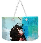 Feathers From Hair  Weekender Tote Bag