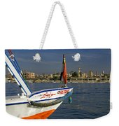 Felucca On The Nile Weekender Tote Bag