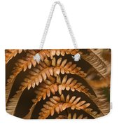 Fern Abstract Weekender Tote Bag