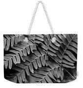 Fern Close-up Of Water Droplets Weekender Tote Bag