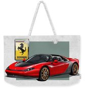 Ferrari Sergio With 3d Badge  Weekender Tote Bag