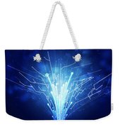 Fiber Optics And Circuit Board Weekender Tote Bag