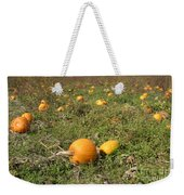 Field Of Pumpkins Weekender Tote Bag