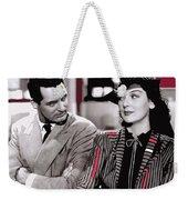 Film Homage Cary Grant Rosalind Russell Howard Hawks His Girl Friday 1940-2008 Weekender Tote Bag