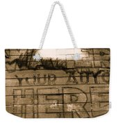 Film Homage Gregg Toland John Ford Henry Fonda The Grapes Of Wrath 2 1940 Ft. Steele Wy 1971-2008 Weekender Tote Bag