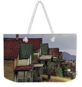 Film Homage Mae Marsh Miner's Coal Company Homes Ghost Town Madrid New Mexico Color 1968-2008 Weekender Tote Bag