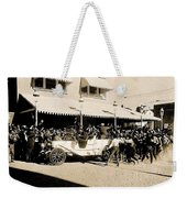 Film Homage Newsreel Cameraman The Great White Hope Set Globe Arizona 1969-2008 Weekender Tote Bag