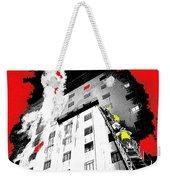 Film Noir Act Of Violence 1949 Pioneer Hotel Fire 1970 Jack Schaeffer Photo Color Added 2012 Weekender Tote Bag