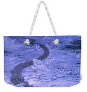 Fingolfin Leads The Host Across The Helcaraxe Ted Nasmith Weekender Tote Bag