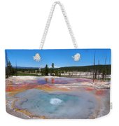 Firehole Spring In Yellowstone National Park Weekender Tote Bag