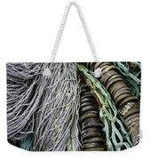 Fish Netting Husavik Iceland 3755 Weekender Tote Bag