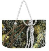 Fish Netting Husavik Iceland 3764 Weekender Tote Bag