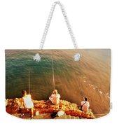 Fishermen In Beirut  Weekender Tote Bag