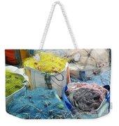 Fishing Industry In Limmasol Weekender Tote Bag