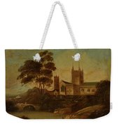 Fishing On The River Weekender Tote Bag