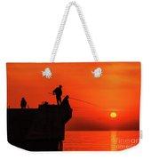 Morning Fishing 1 Weekender Tote Bag