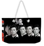 Five Robert Mitchum's Young Billy Young Set Old Tucson Arizona 1968-2012 Weekender Tote Bag
