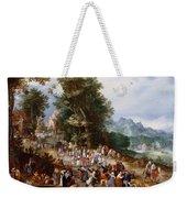 Flemish Fair Weekender Tote Bag