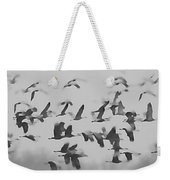 Flight Of The Sandhill Cranes Weekender Tote Bag