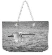 Flight Of The Swan Weekender Tote Bag